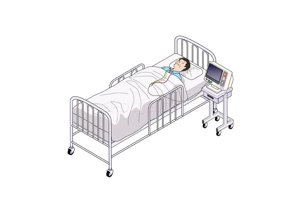 医療機器-病室ベッド_1212
